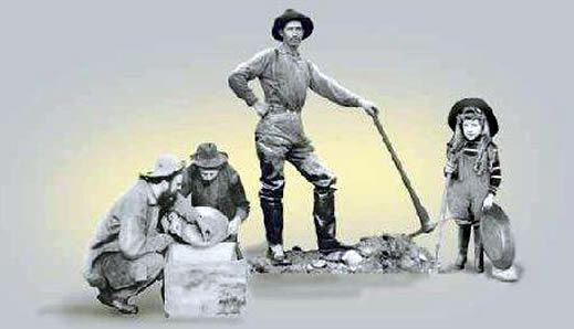 The Prospector was one of the most important people in mining