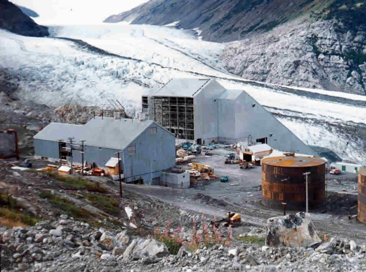 Granduc Mill Under Construction