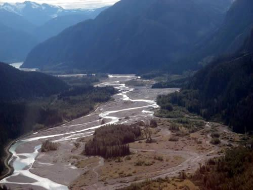 Prospectors would forge the Salmon River Valley to the Troy claims
