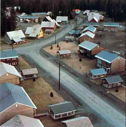Granduc had a townsite built in Stewart to house employees